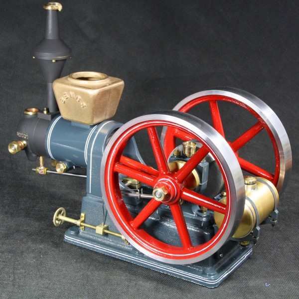 Flammenfresser Kurfürst Gussteilesatz von Bengs Modellbau