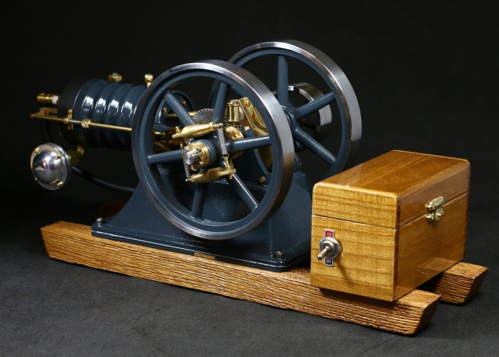 station rmotor karl materialbausatz bengs modellbau. Black Bedroom Furniture Sets. Home Design Ideas