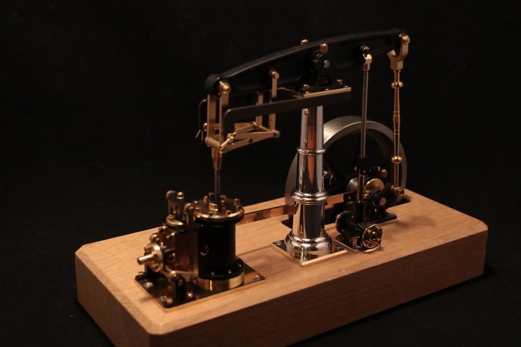 Dampfmaschine-Balken-Modellbau