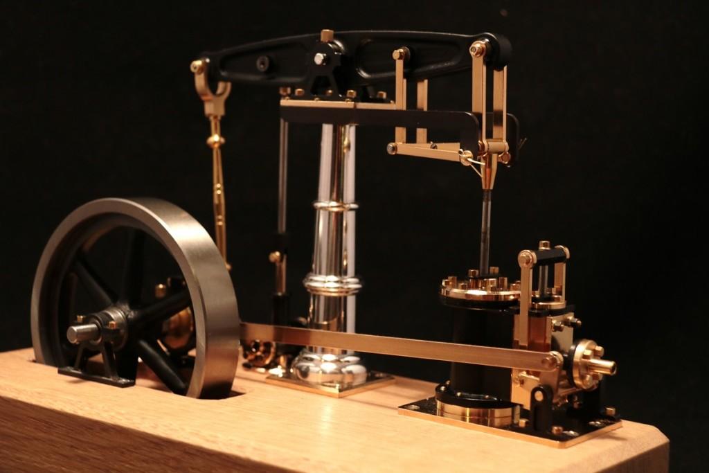 Kundenmodell-Dampfmaschine-Bengs