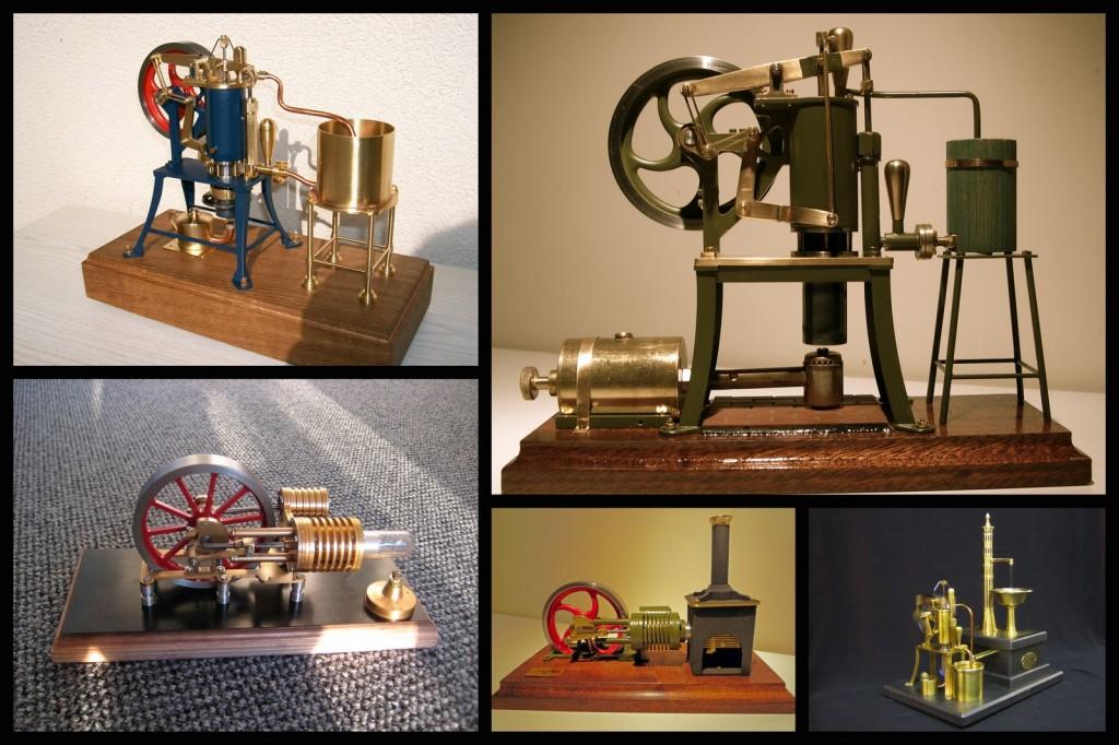 Stirlingmotor gebaut von unseren Kunden