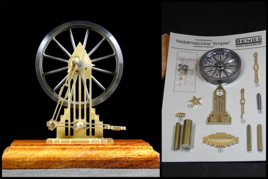 Pedalmaschine gebaut von unseren Kunden