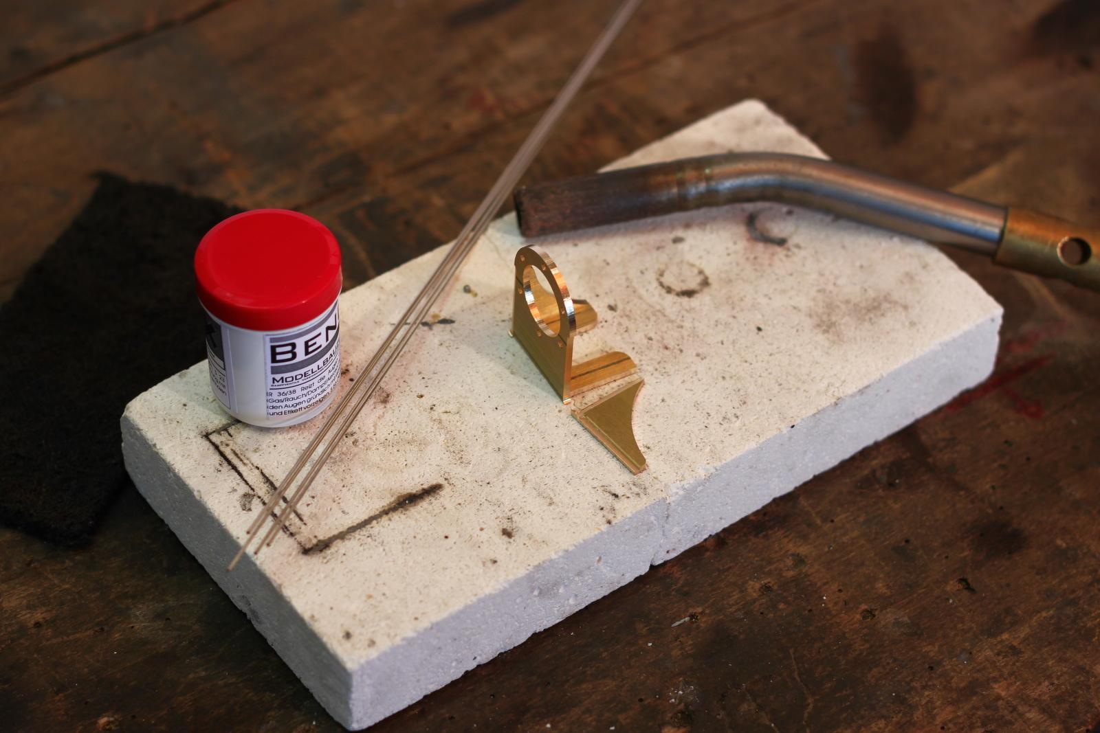 Hervorragend Hartlöten mit Silberlot Anleitung - Modellbau Magazin KQ99