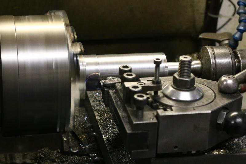 Zylinderhülse-drehen-modellbau