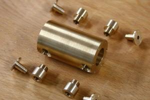 maschinensockel-kolben-zylinder