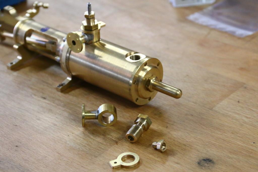 Baubericht-dampfmaschine