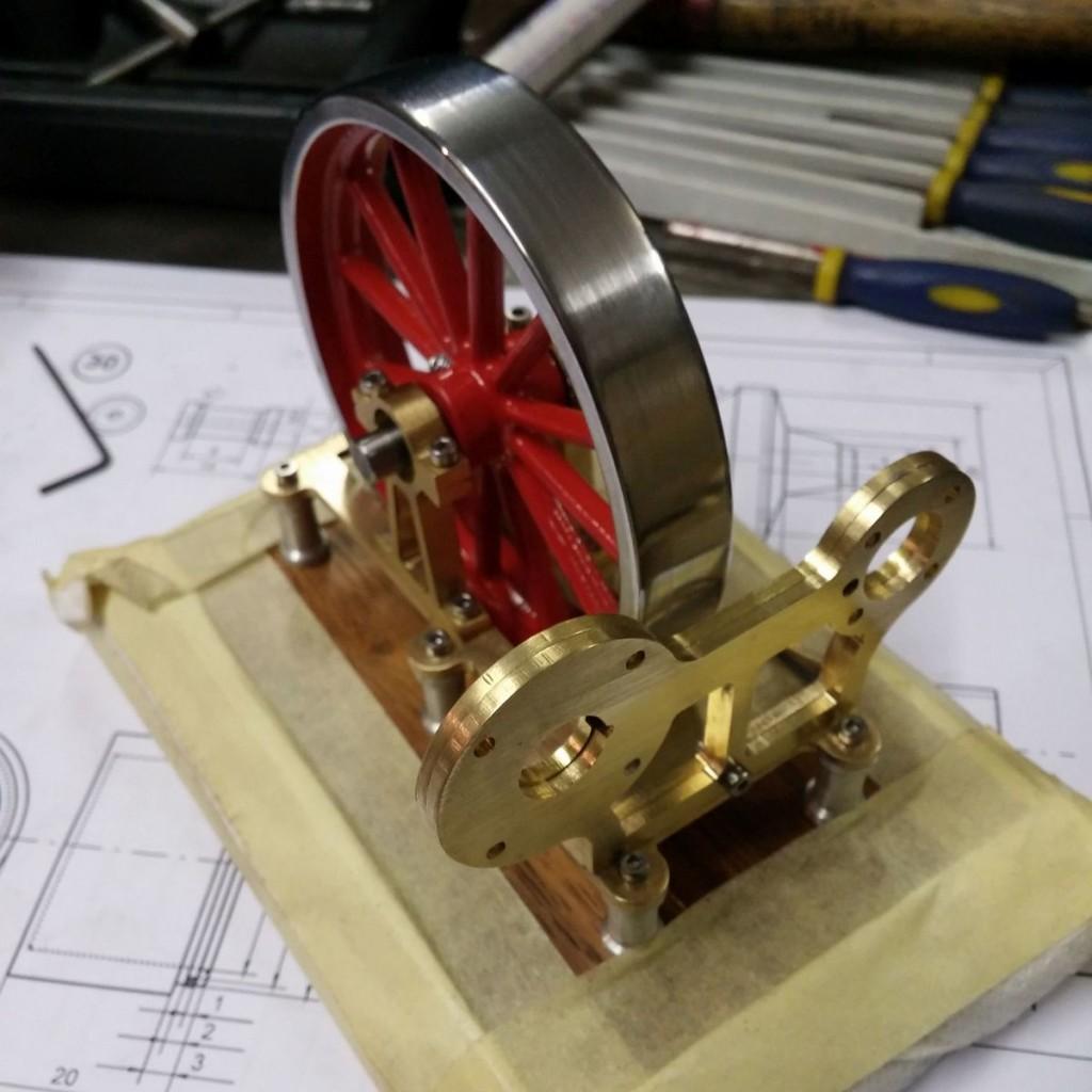 stirlingmotor-gamma-heissluftmotor