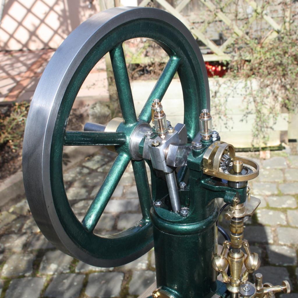 Dürkopp Tauchkolben Gasmotor Kundenfotos
