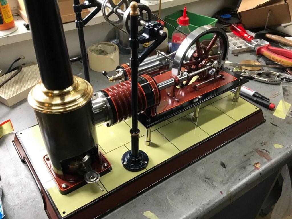 Die Grosse Laura nach Vorbilde eines Plank Stirlingmotors