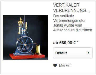Verbrennungsmotor Jonas Im Bengs Modellbau Shop bestellen