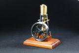 Neuer Materialbausatz. Stehende Dampfmaschine Leni mit Stephenson Umsteuerung