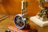Baubericht stehende Dampfmaschine Leni mit Umsteuerung