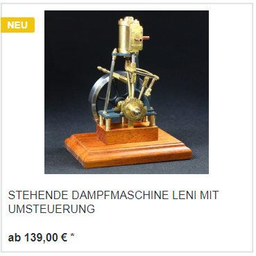 Dampfmaschine Leni im Shop kaufen