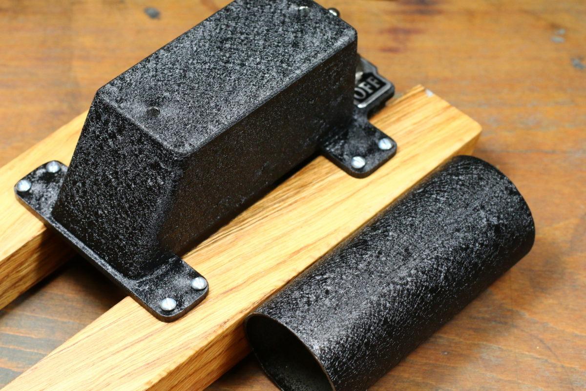 Beschichtungspulver mit Kroko-Effekt