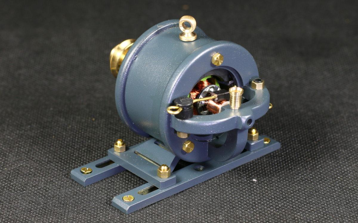 Baubericht Generator Antriebsmodell