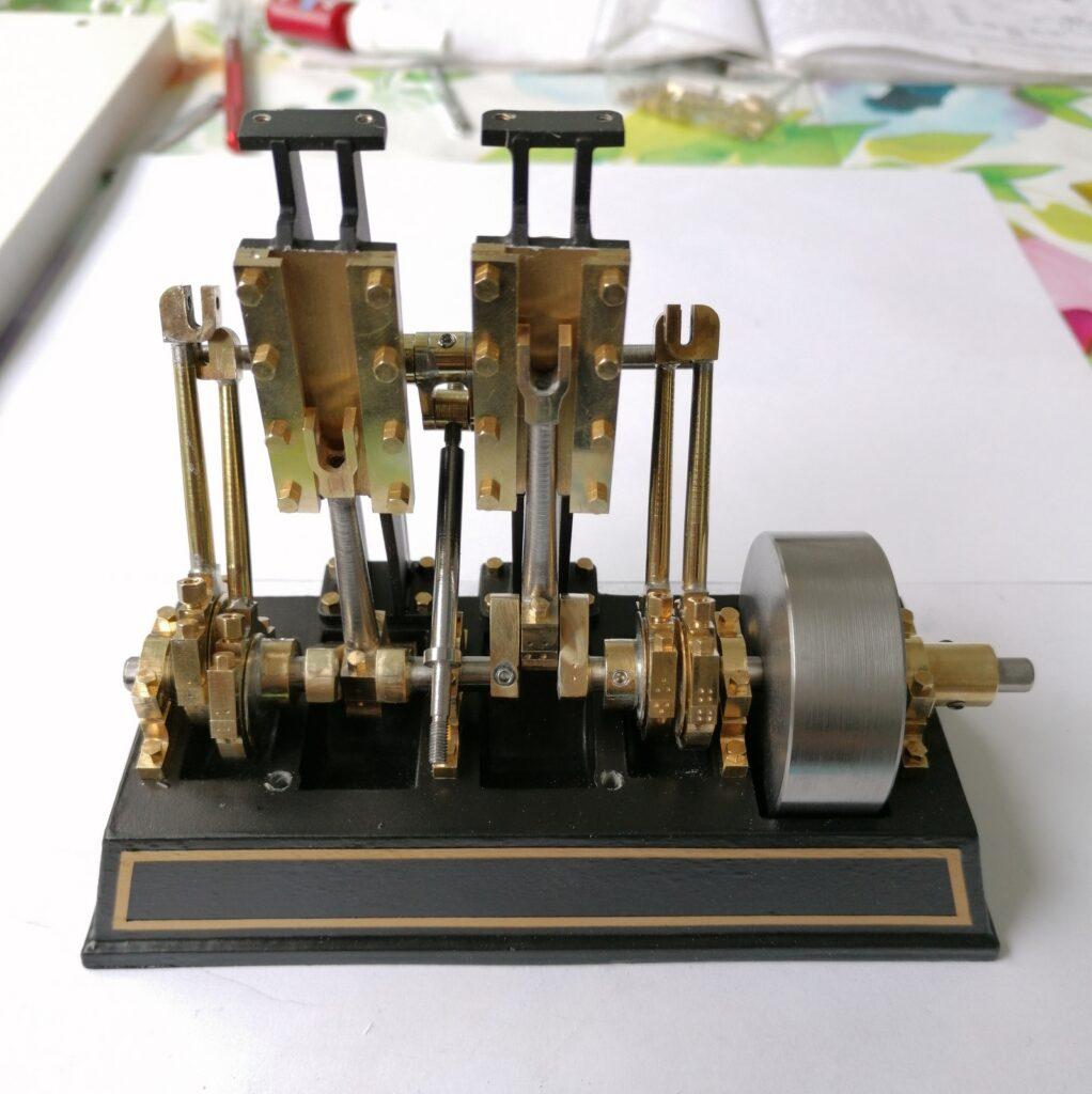 Baubericht Dampfmaschine Tobias