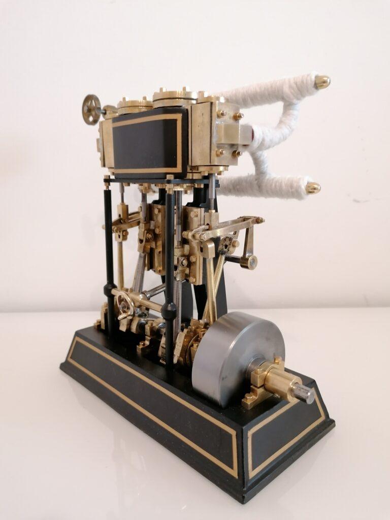 2 Zylinder Dampfmaschine Tobias