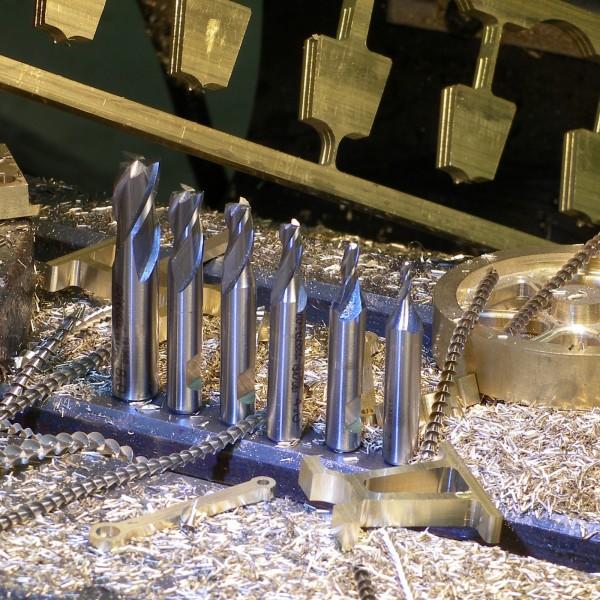 HSS Fräser zum Fräsen von Kleinteilen für den Modellbau