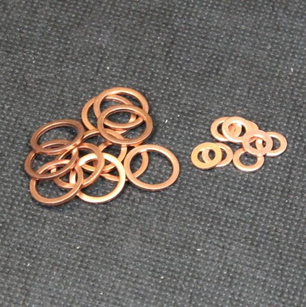 Kupferdichtringe für den Modellbau