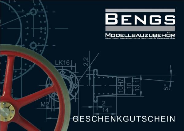 Geschenkgutschein von Bengs Modellbau