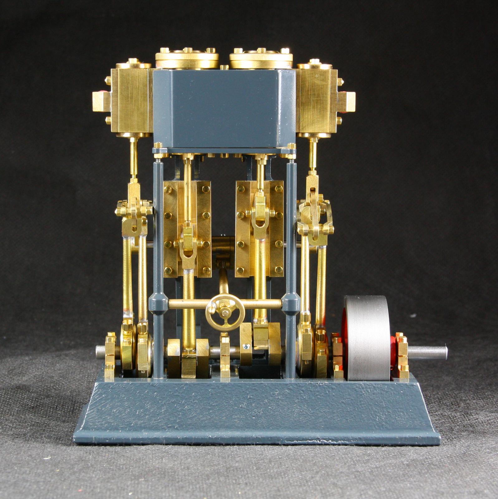 Metallgriff für Dampfmaschine 2