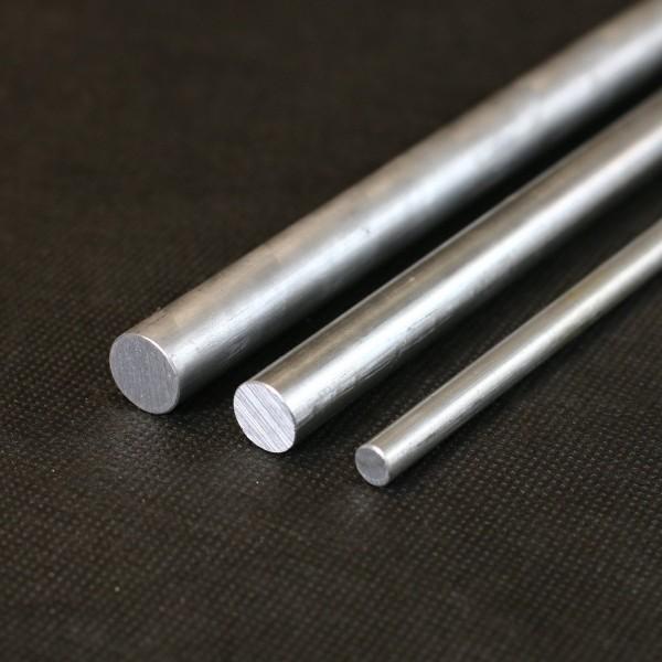 Aluminium Rundstangen in verschiedenen Durchmessern