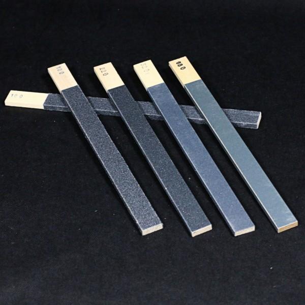 Schmirgelfeilen in verschiedenen Durchmessern