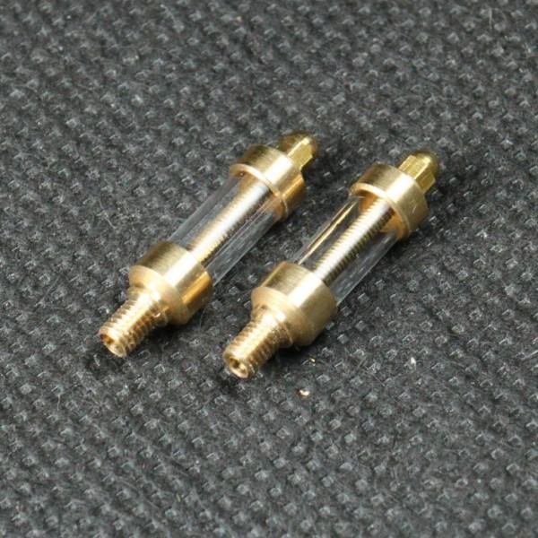 Mit diesem Echtglasöler werden Flammenfresser oder Stirlingmotoren automatisch geölt