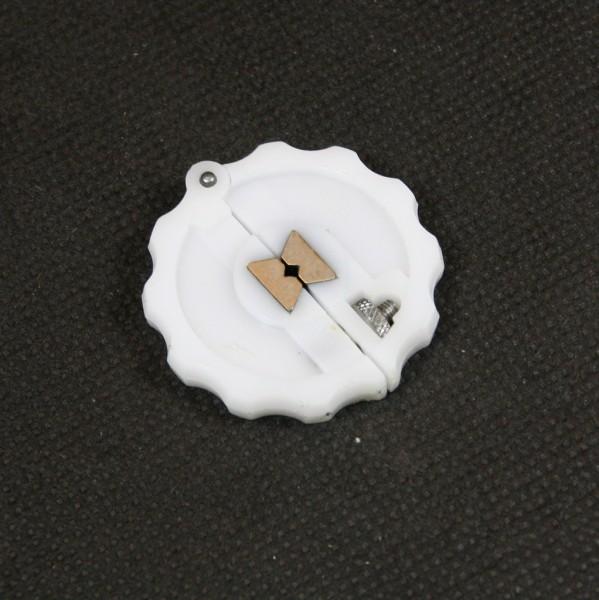 Verstellbares Rund-Windeisen zum Gewindeschneiden von kleinen Gewinden im Modellbau