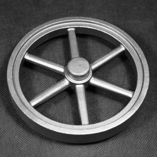 Schwungrad 140 mm für Dampfmaschine Flammenfresser Stirlingmotor