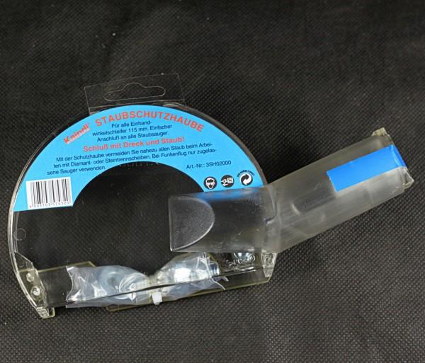 Staubschutzhaube für alle 115 mm Winkelschleifer
