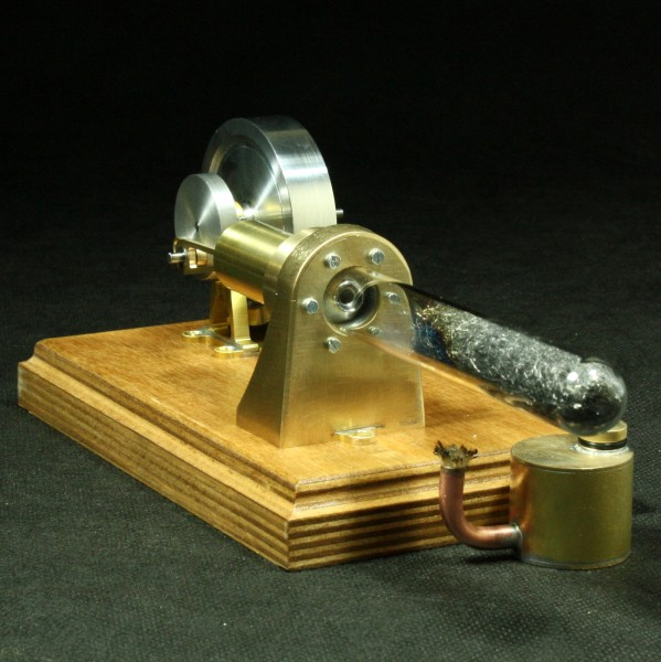 Termoakustik Stirlingmotor von Bengs Modellbau