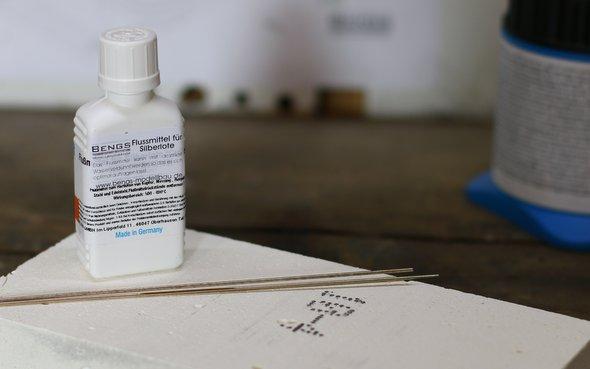 Silberlot-flussmittel