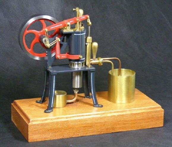 Rider-Ericsson Stirlingmotor John von Bengs Modellbau