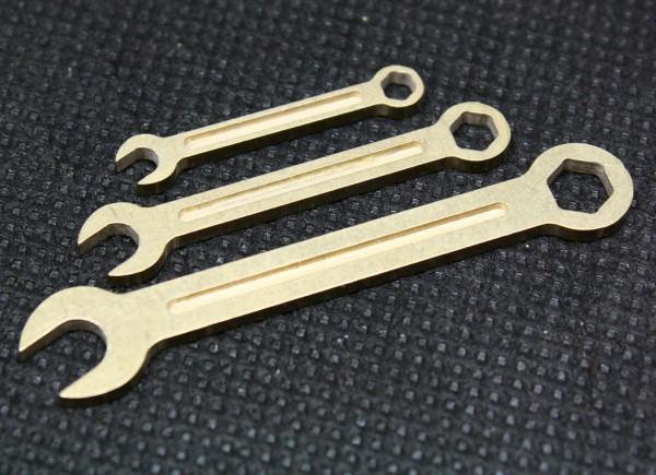 Ring-Maulschlüssel aus eigener Fertigung für den Modellbau
