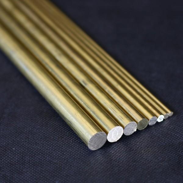 Messingrund Material für Dampfmaschinen Flammenfressern Stirlingmotoren