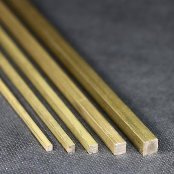 Messing Vierkant Material für den Modellbau