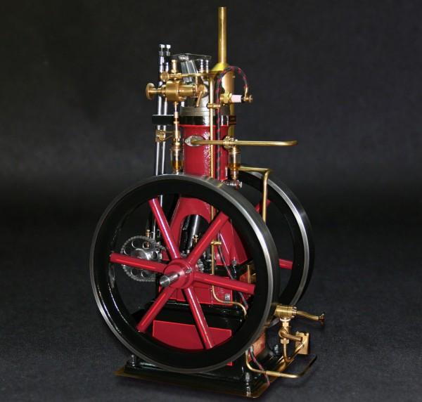 Stehender Gasmotor Otto als Modell