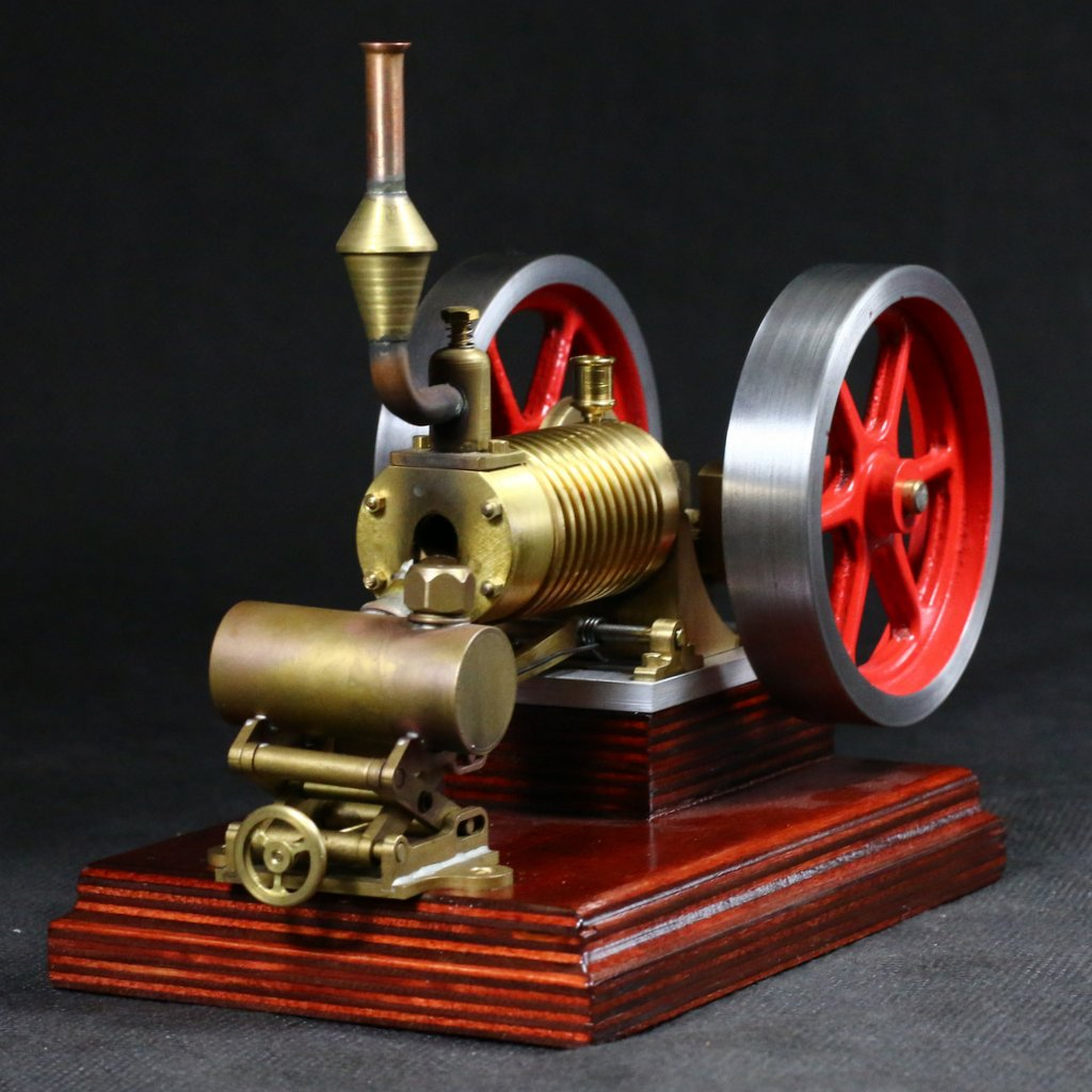 """Flame eater /""""Nick/"""" with burner Premilled material kit flame licker engine"""