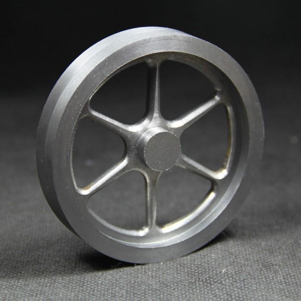 Schwungrad aus Grauguss für den Modellbau
