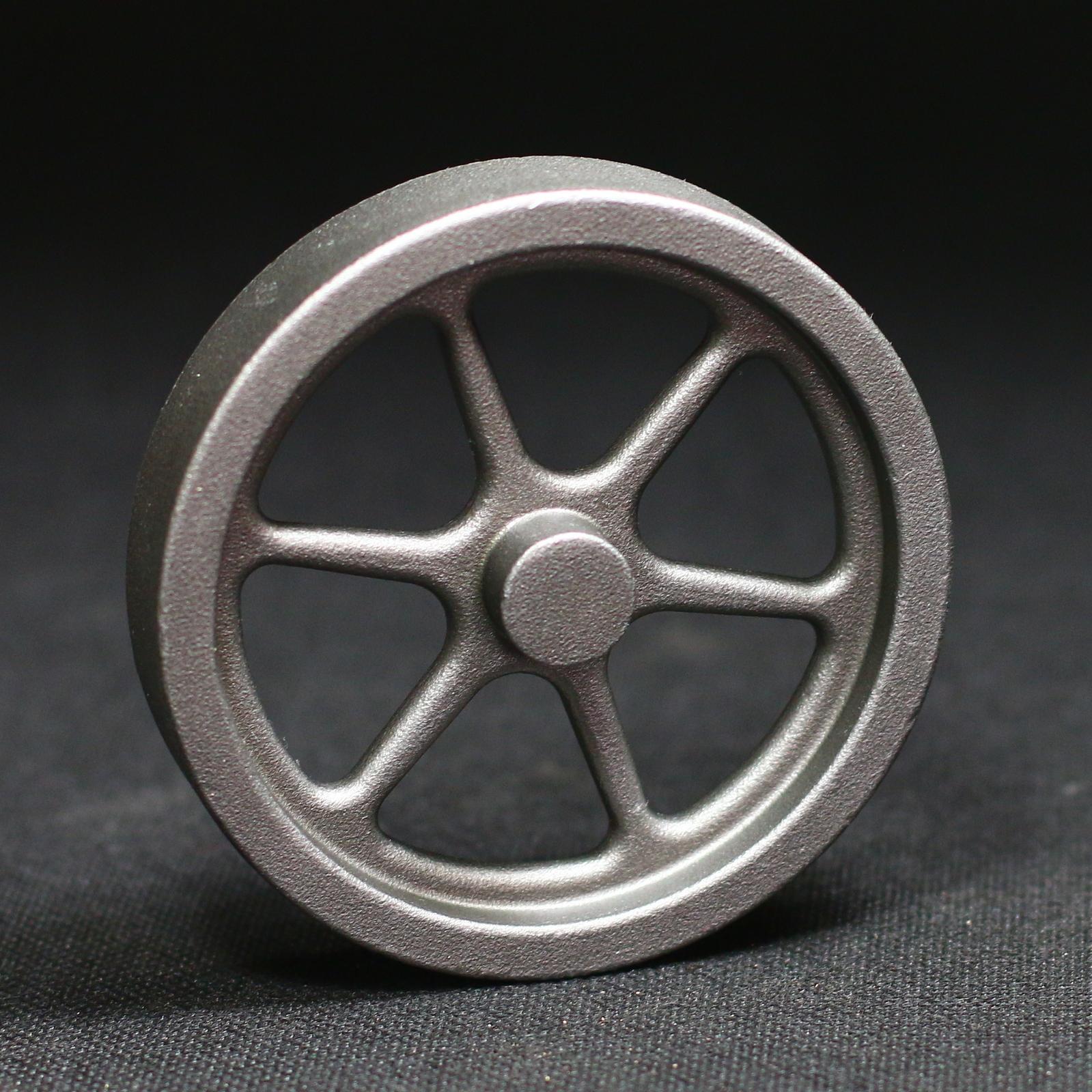 Stirlingmotor Schwungrad 80mm Stahlguss für Dampfmaschine Flammenfresser