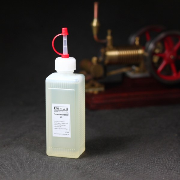 Spezielles Öl für Flammenfresser von Bengs Modellbau