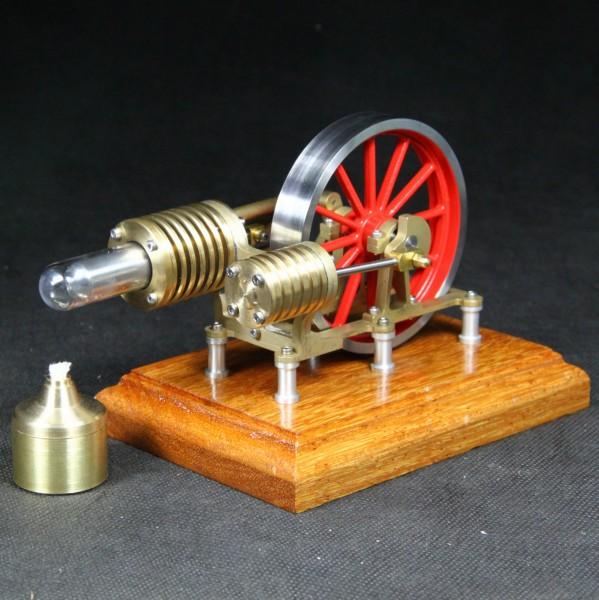 Materialbausatz Stirlingmotor Laura von Bengs Modellbau