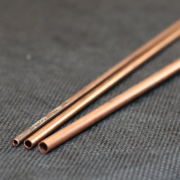 Hartes Kupferrohr als Stangenmaterial