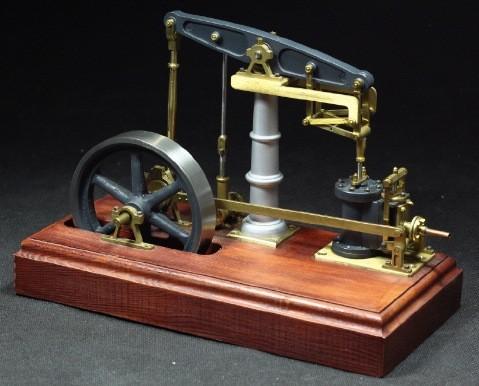 Bausatz der Balancierdampfmaschine Sophie
