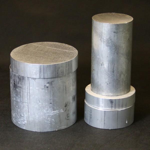 Aluminium Reststücke Rundmaterial